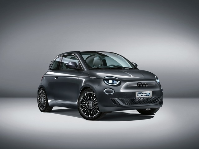 nuova 500 ELECTRIC CABRIO - FIAT