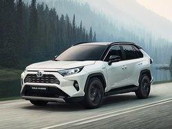 Nuovo Toyota RAV4 Hybrid AWD-i